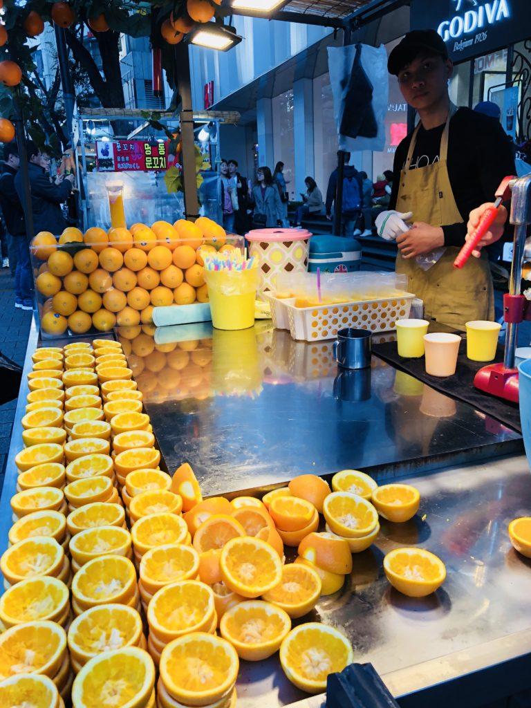 Street food - Korea