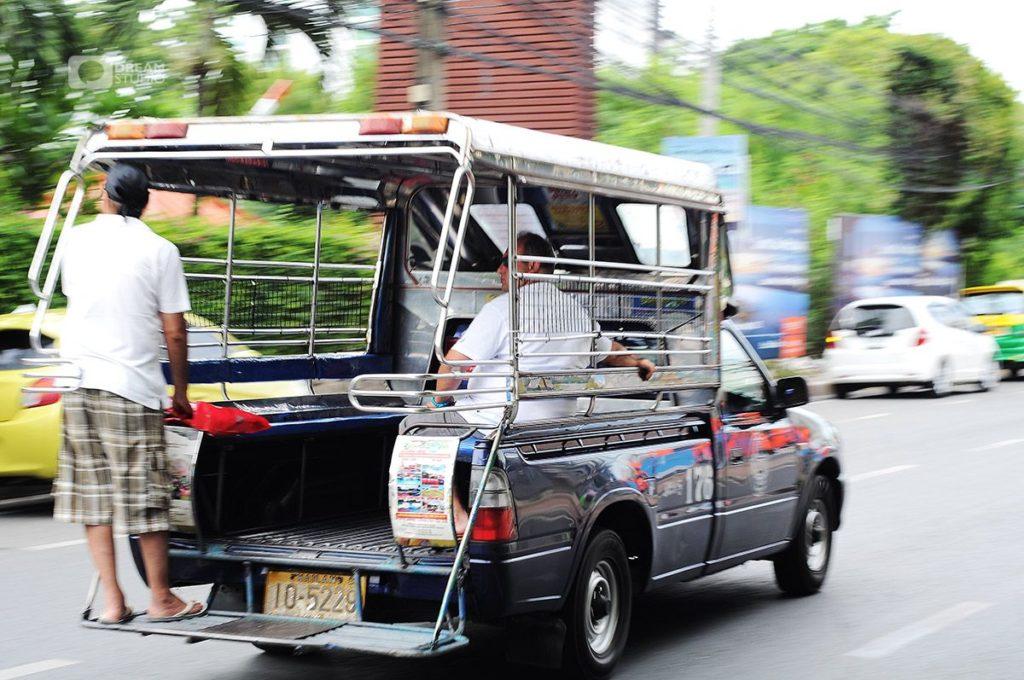 Taxi at Pattaya