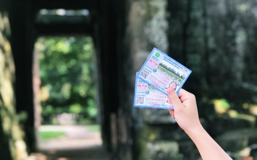 Vé tham quan Angkor