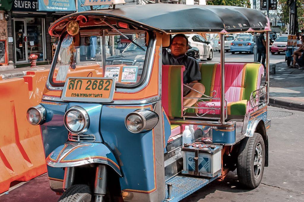 Tuk Tuk ở Thái Lan