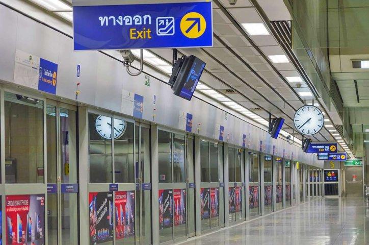 Trạm MRT ở Bangkok