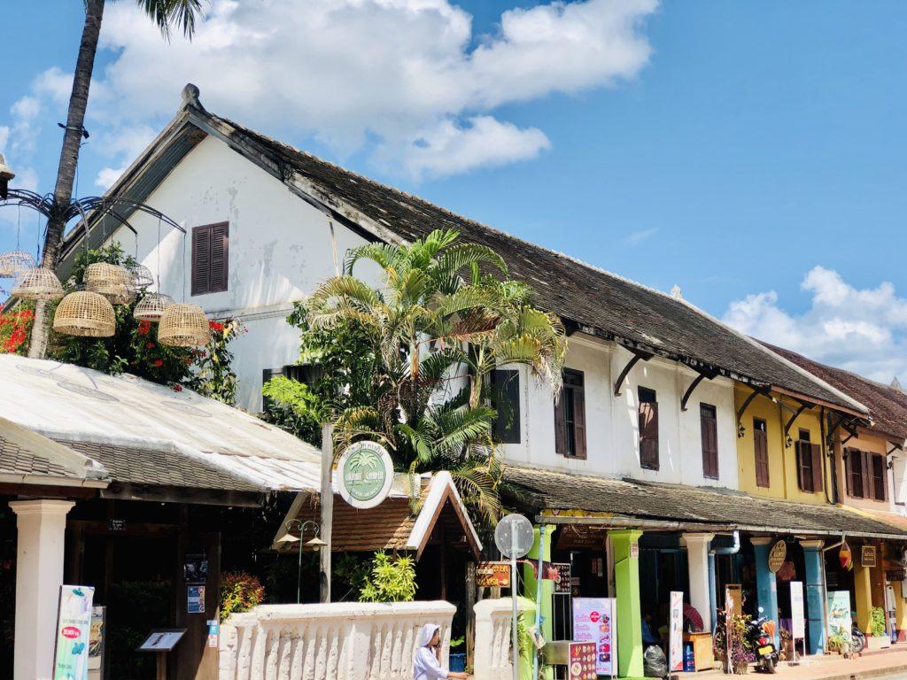 Phố cổ Luang Phrabang