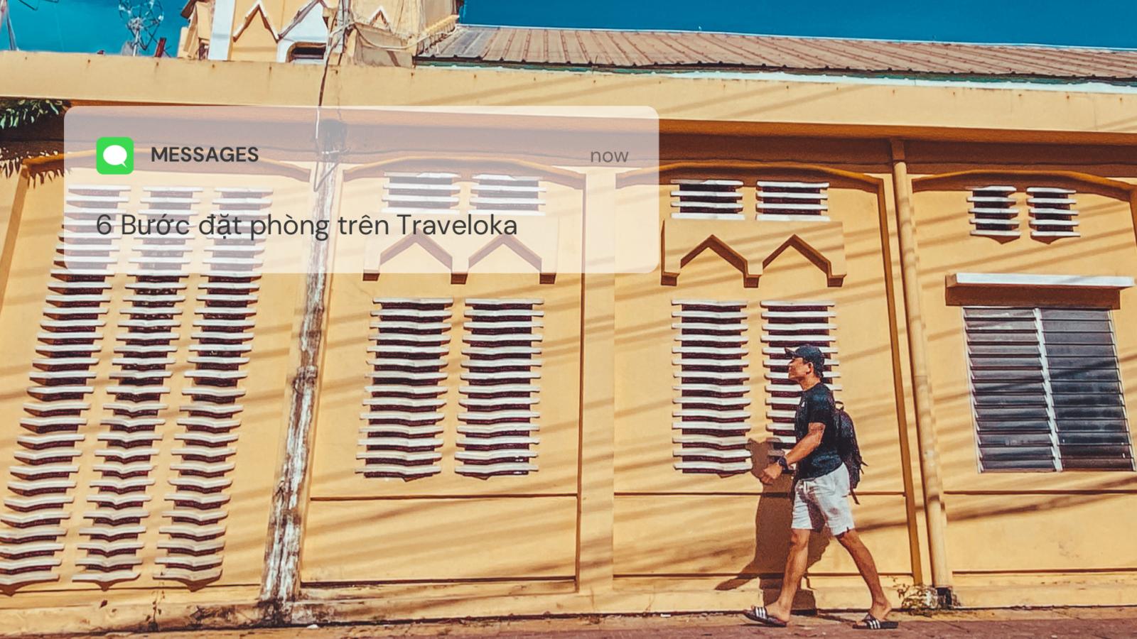 6 Bước đặt phòng trên Traveloka