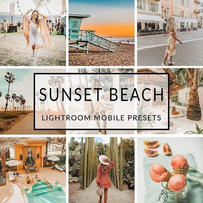 Preset Sunset Beach