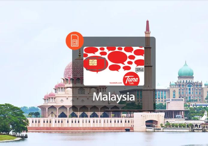 Mua SIM 4G Malaysia