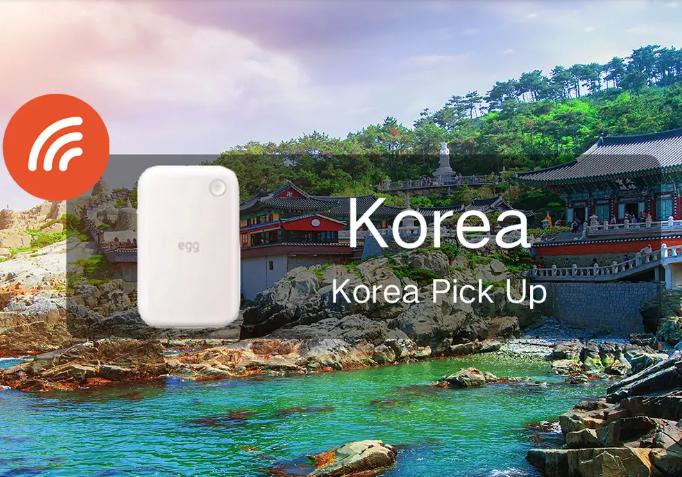 Thiết Bị 4G WiFi tại Hàn Quốc